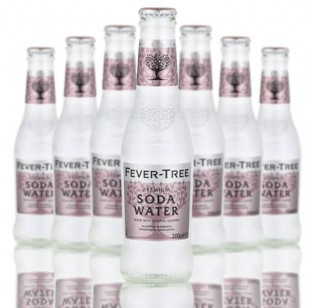 Fever Tree Premium  Soda Water (24 x 200ml)