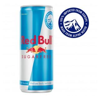 Red Bull Energy - Sugar Free (4 x 250 ml)