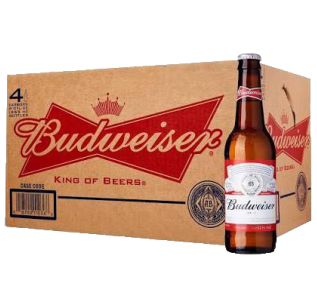 Budweiser (24 bottles x 355ml)