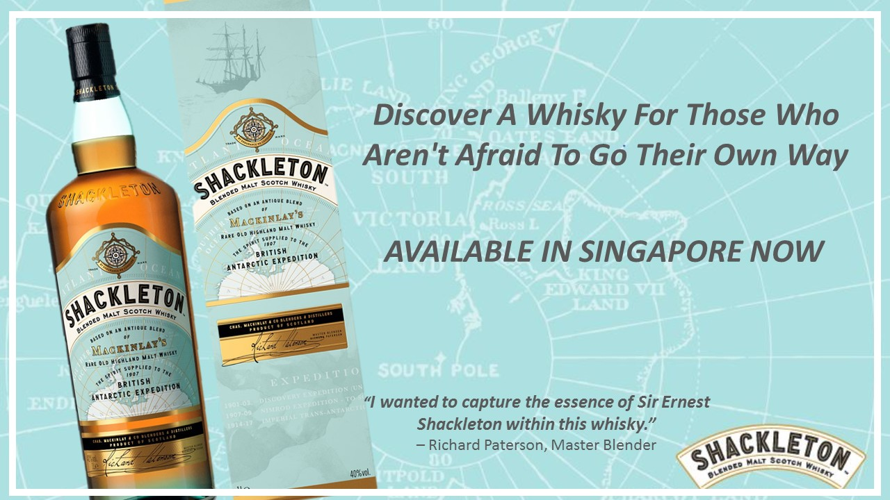 A New Scotch Whisky In Honour Of Sir Ernest Shackleton